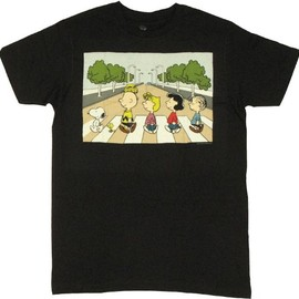 Crosswalk - Peanuts T-shirt Abbey Road?