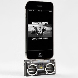 Mini Boombox iPod Dock
