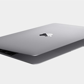 Apple - MacBook (Retina, 12-inch, Early 2015) Space Gray