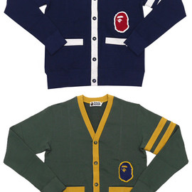 A BATHING APE - SWEAT CARDIGAN