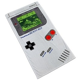 ThinkGeek - Beach Game Boy Towel