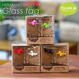 QUALY - グラスマーカー HUMMINGBIRD'S PARTY
