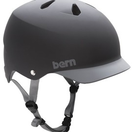 bern - WATTS Matt Black Brim