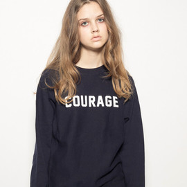 FORTY PERCENTS AGAINST RIGHTS - COURAGE/CREW NECK SWEAT