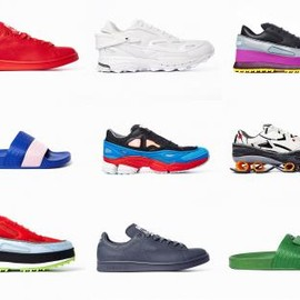 ADIDAS BY RAF SIMONS - ADIDAS BY RAF SIMONS SPRING/SUMMER 2015 COLLECTION