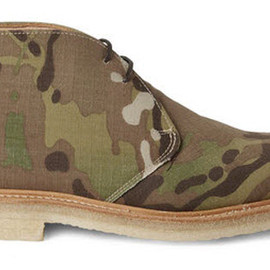 Mark McNairy - Camouflage Canvas Desert Boots