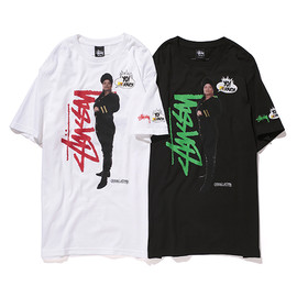 Stussy - Yo! MTV Raps Tee (Queen Latifah) - Black