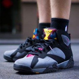 Nike - NIKE AIR JORDAN VII RETRO BLACK/BORDEAUX-LIGHT GRAPHITE-MIDNIGHT FOG