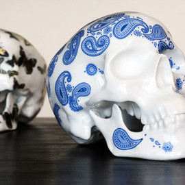 """Noon - """"Skull Butterfly"""" and """"Skull Cashmere Blue"""""""