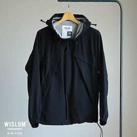 WISLOM - AUGUST - SHELLPARKA #black/eclair