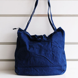 seaside freeride - denim tote bag
