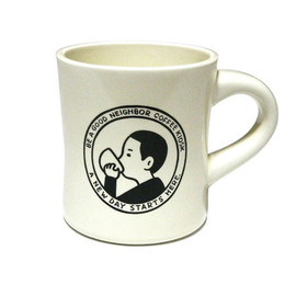BE A GOOD NEIGHBOR COFFEE KIOSK - BE A GOOD NEIGHBOR Diner Mug