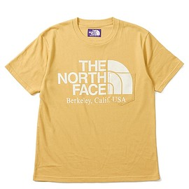 THE NORTH FACE PURPLE LABEL - H/S Logo Pocket tee Mustard
