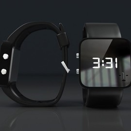 Face Watch LED Charity Wristwatch