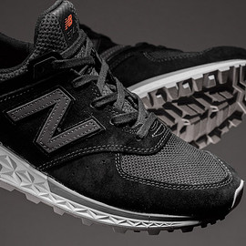 New Balance - 574 Fresh Foam - Black/Grey/Red