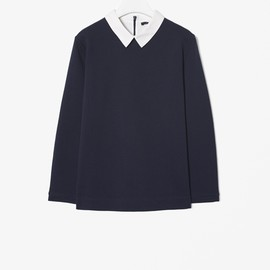 COS - Sweatshirt with collar