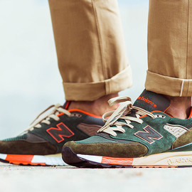 J.Crew, New Balance - M998 - Concrete Jungle