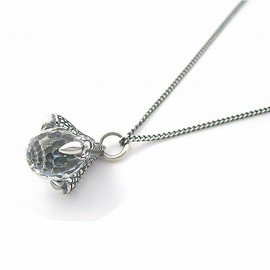 YOSHiKO☆CREATiON PARiS - Small Artemis Necklace (Silver × Crystal)