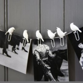 Rockett St George - White Bird Paper Clips