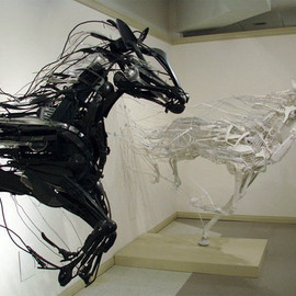 Sayaka Ganz - horses objects