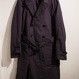 U.S.NAVY - 60's COTTON RAIN COAT