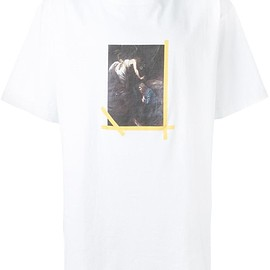 Off-White - プリント柄 Tシャツ