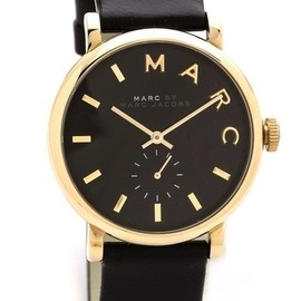 MARC BY MARC JACOBS - Leather Baker Watch