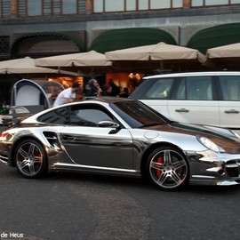 Porsche - 911 Turbo Custom Chromed