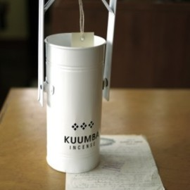 kuumba - INCENSE BURNER (WHITE)