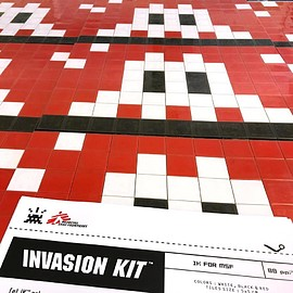 "invader - INVASION KIT ""IK FOR MSF"""