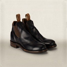 RRL - Congress Leather Boot