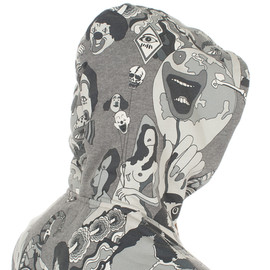 Paul Smith - Psychedelic Print Hooded Top