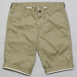Mountain Research - 1367 Piped Stem Pants (Shorty) Beige