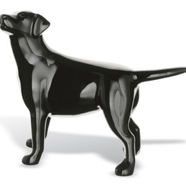 Baccarat - DOGS (Black, labrador dog)