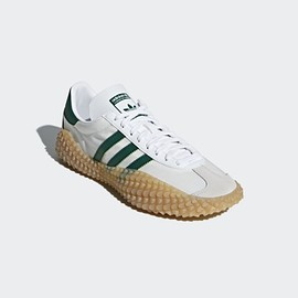 adidas - Country X Kamanda - Running White/Collegiate Green/Gum