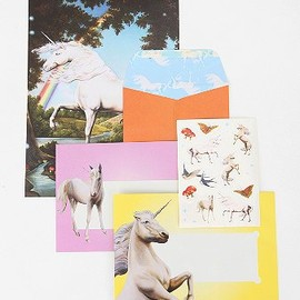 Unicorn Wishes letter set
