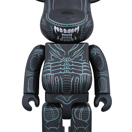 MEDICOM TOY - BE@RBRICK 400% WARRIOR ALIEN