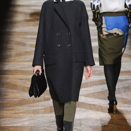 dries van noten - 2012 AW coat