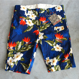 Engineered Garments - GHURKA SHORT-PRINTED