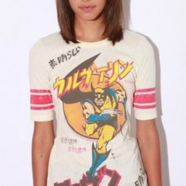 素晴らしい DOE Wolverine Hockey Tee