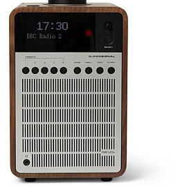 Revo - SuperSignal Walnut and Aluminium Digital Radio