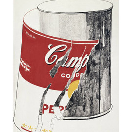 Big Torn Campbell's Soup Can, c.1962