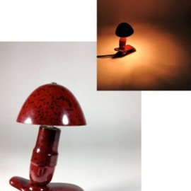 "ドイツ・アンティーク - 1940-50's Germany ""Bakelite"" mini Lamp【箱付き Dead Stock】"