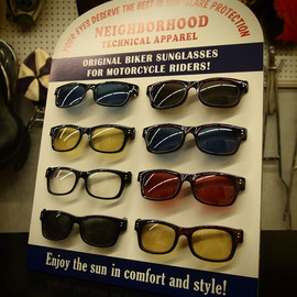 NEIGHBORHOOD - NEIGHBORHOOD souvenir shade SUNGLASSES