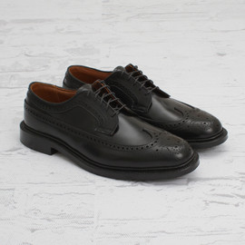 ALDEN - Shell cordovan long wing blucher oxford