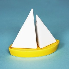 Memories of Falmouth Salt and Pepper Shakers