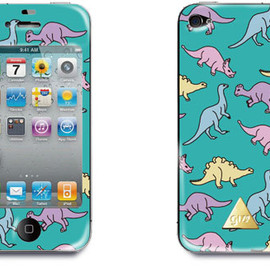 GIZA - DINOSAUR grn Iphone Cover