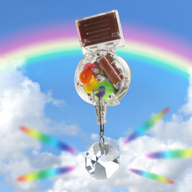 kikkerland - Solar Powered RainbowMaker + Swarovski Crystal