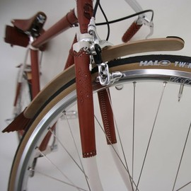"Nicholas James for Harcourt - ""Brogue"" luxury bicycle"