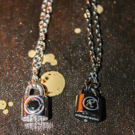 UNDERCOVER X COREJEWELS - ネックレス SV CJ BLACK×BlackDiamond 0.3ct / SV×BlackDiamond 0.3ct